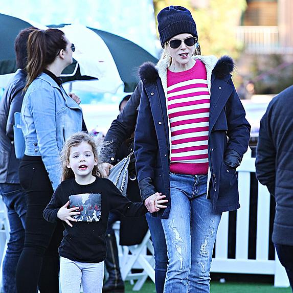 Nicole Kidman and daughter Faith