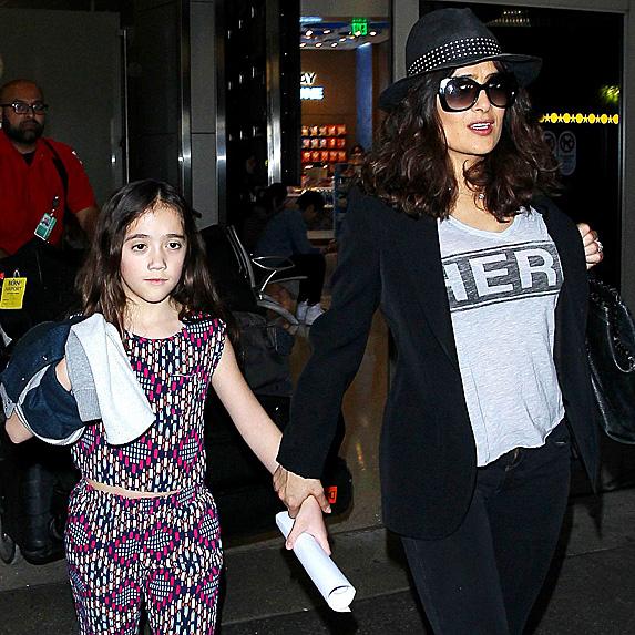 Salma Hayek and daughter Valentina