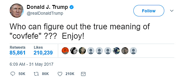 Donald Trump's tweets are ridiculous