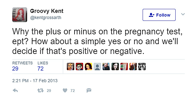 Pregnancy tests are evil