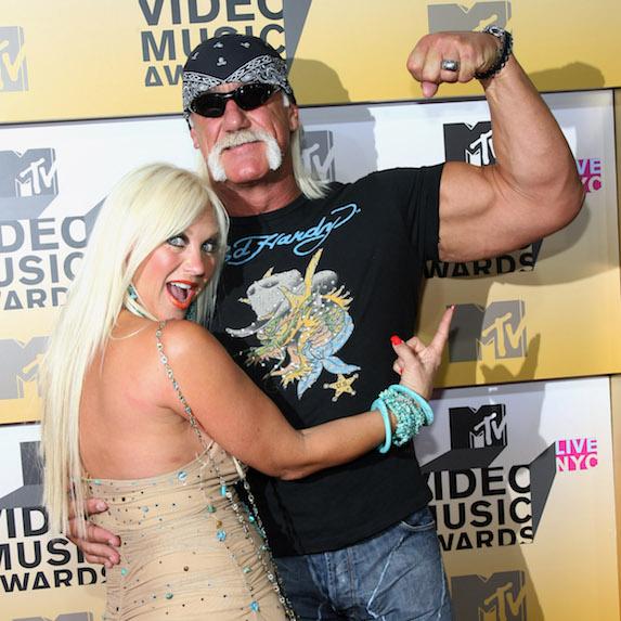 Linda Hogan and Hulk Hogan during 2006 MTV Video Music Awards