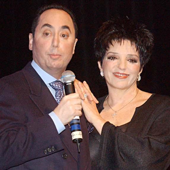 Liza Minnelli and ex-husband David Gest