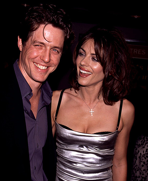 Hugh Grant and Elizabeth Hurley