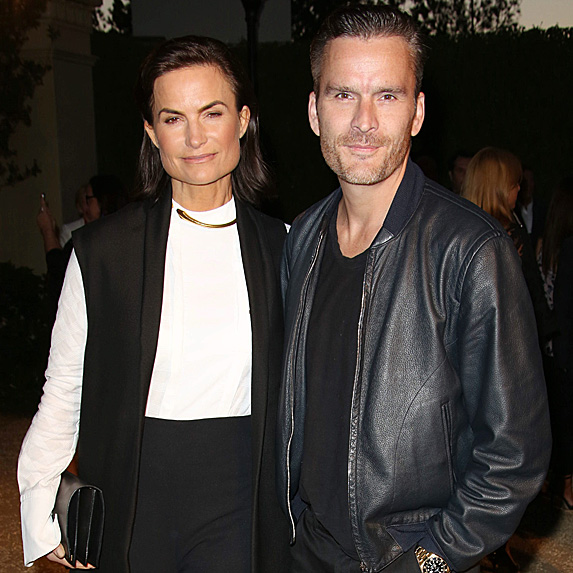 Balthazar Getty and wife Rosetta Millington
