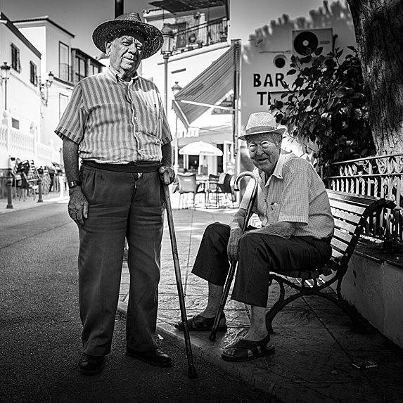 Two older Spanish men