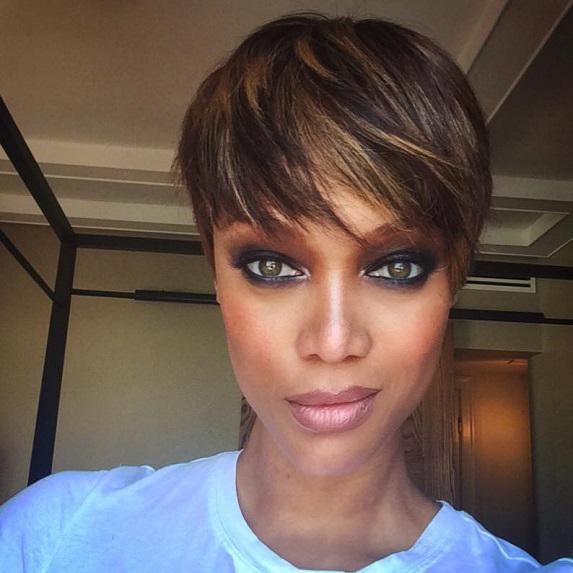 After: Tyra Banks
