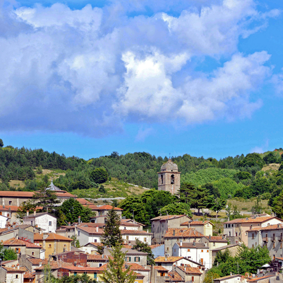 City of Abruzzo in Italy
