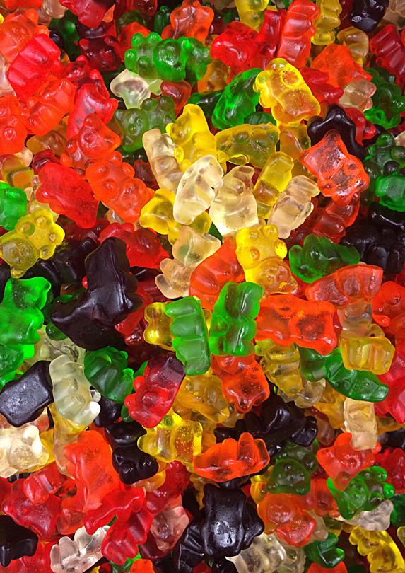 Gummy snacks