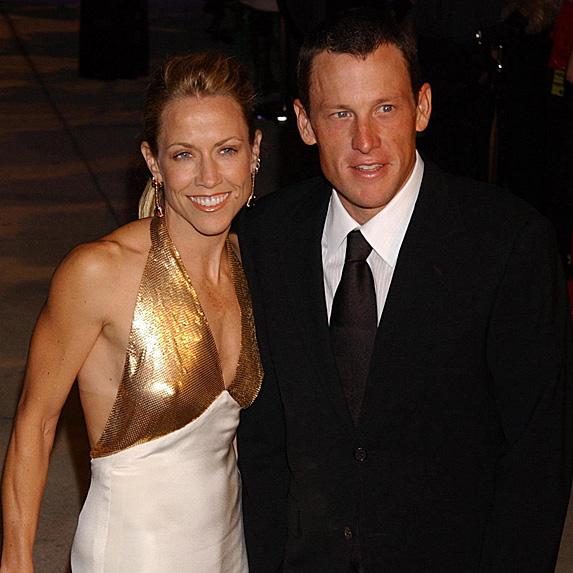 Sheryl Crow and Lance Armstrong