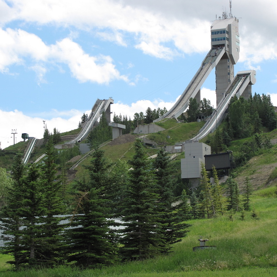 North America's fastest zip-line in Calgary, Alberta