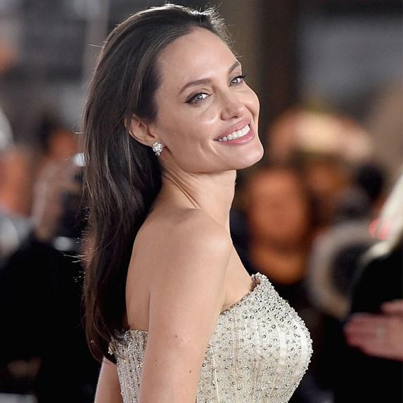 Angelina Jolie love triangle