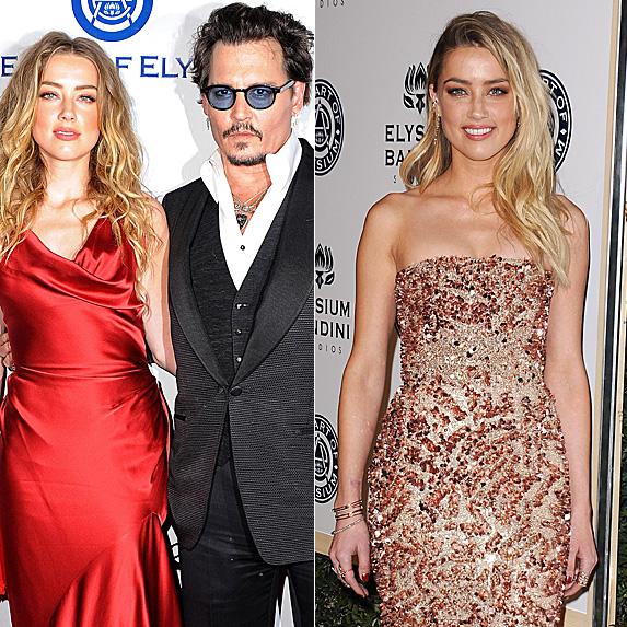 Amber Heard and Johnny Depp; Amber Heard