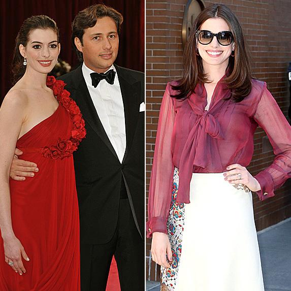 Anne Hathaway and Raffaello Follieri; Anne Hathaway