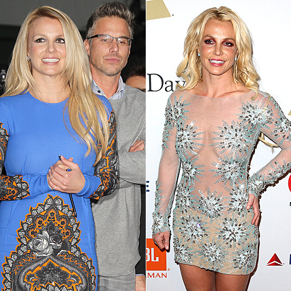 Britney Spears and Jason Trawick; Britney Spears