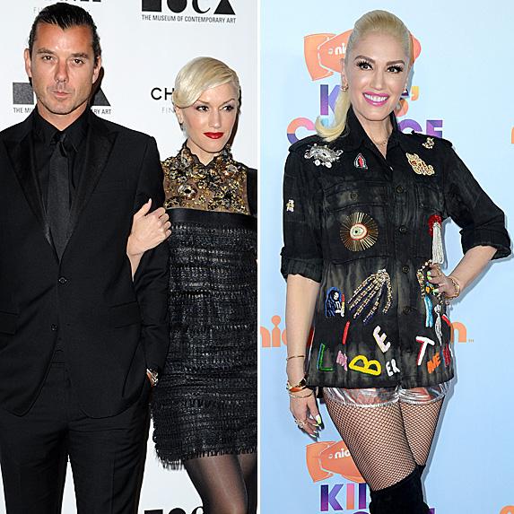 Gavin Rossdale and Gwen Stefani; Gwen Stefani