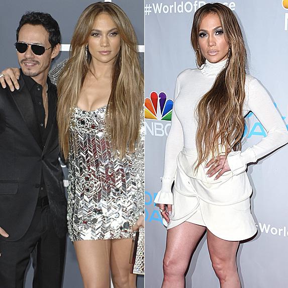 Marc Anthony and Jennifer Lopez; Jennifer Lopez