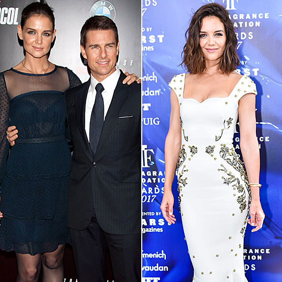 Katie Holmes and Tom Cruise; Katie Holmes
