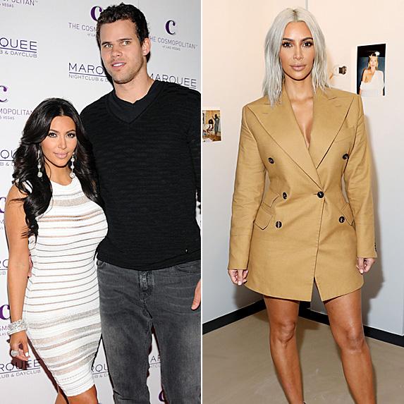 Kim Kardashian and Kris Humphries; Kim Kardashian