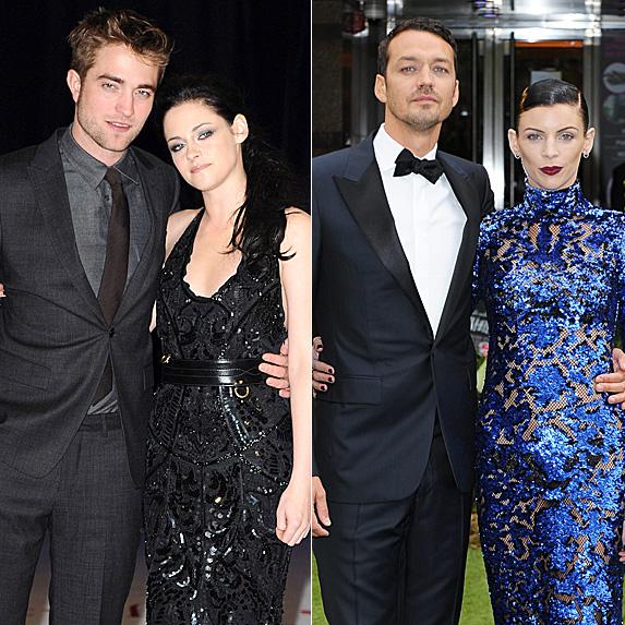 Robert Pattinson and Kristen Stewart; Rupert Sanders and Liberty Ross