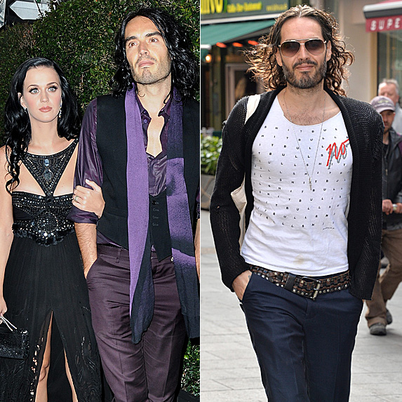 Katy Perry and Russell Brand; Russell Brand