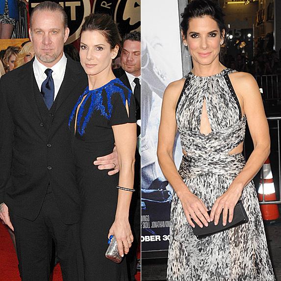 Jesse James and Sandra Bullock; Sandra Bullock