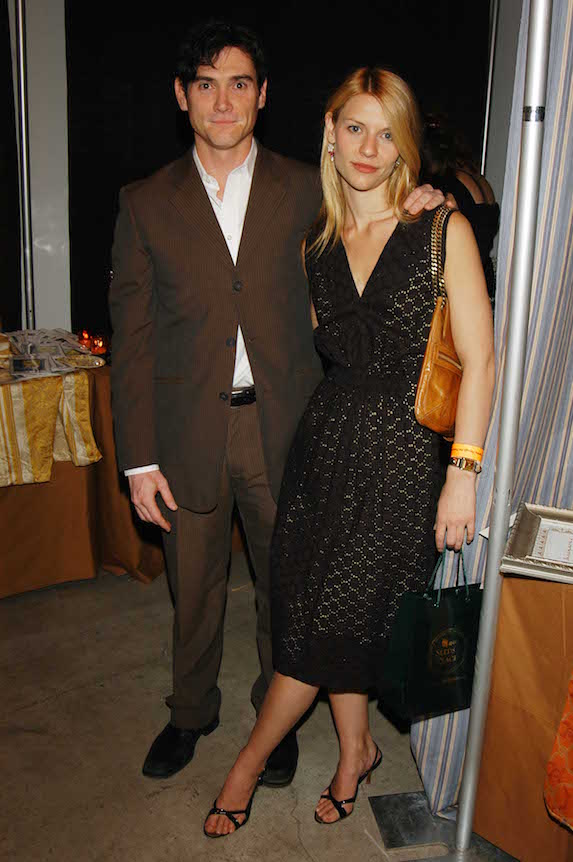 Actor Billy Crudup with then-girlfriend Claire Danes at an event