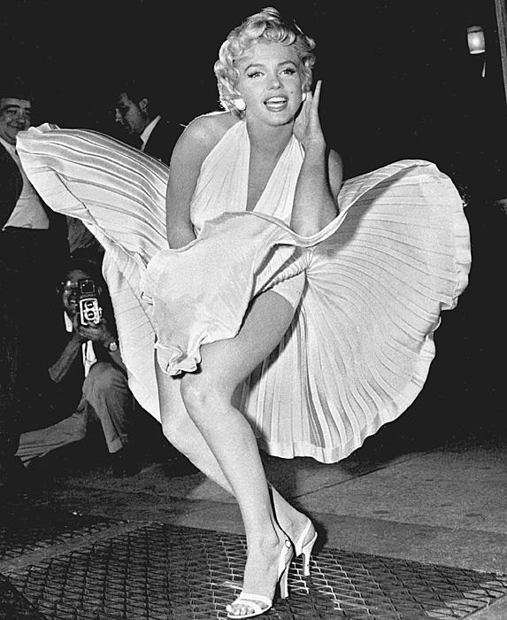 Marilyn Monroe iconic dress