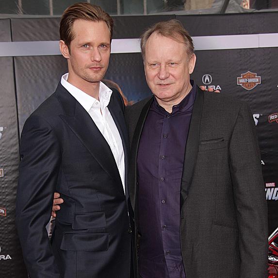 Alexander Skarsgard and Stellan Skarsgard
