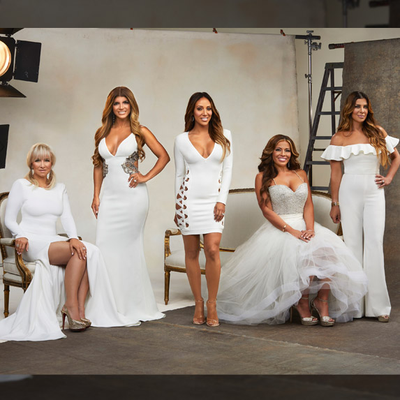 Cast photo of The Real Housewives of New Jersey season 8