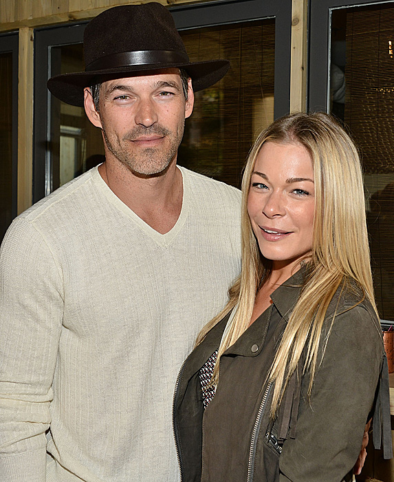 Eddie Cibrian and wife LeAnn Rimes photographed together