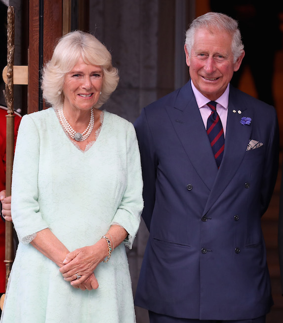 The Prince of Wales and Duchess of Cornwall photographed on a recent visit to Canada