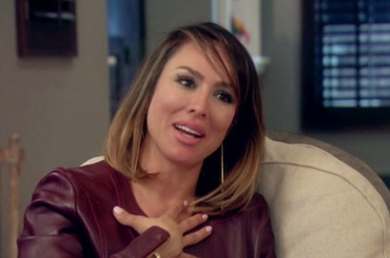 Kelly on an episode of The Real Housewives of Orange County