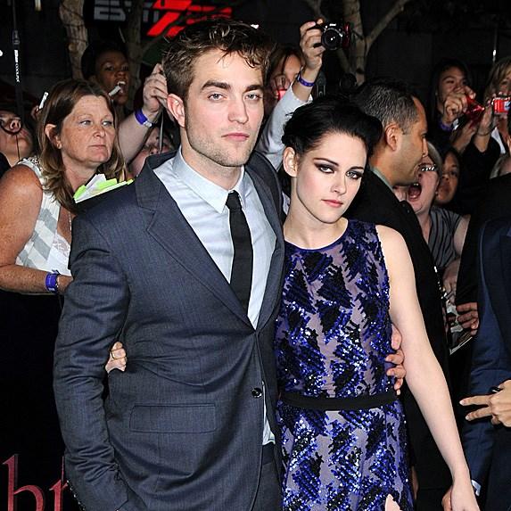 Robert Pattinson Kristen Stewart love triangle
