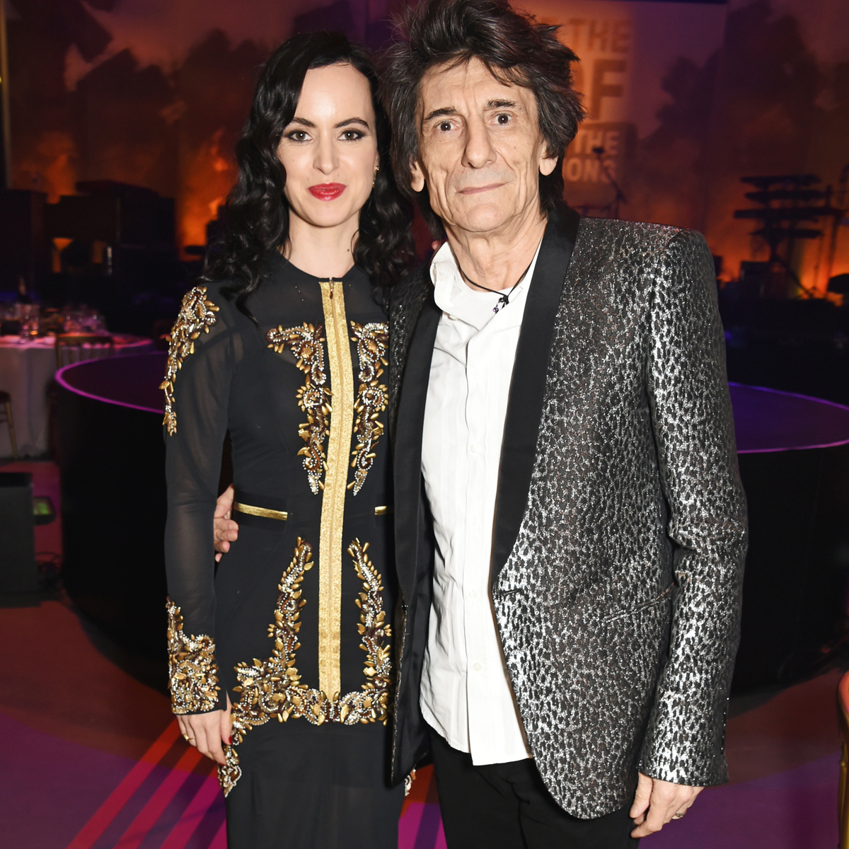 Ronnie Wood and Sally Wood age