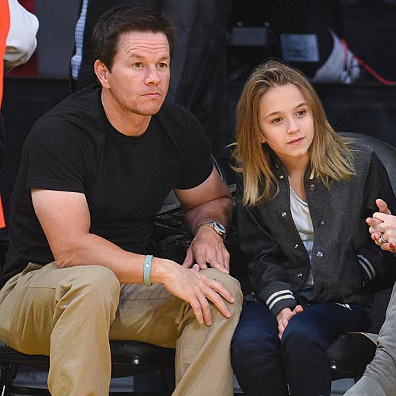 Mark Wahlberg and daughter Ella Rae