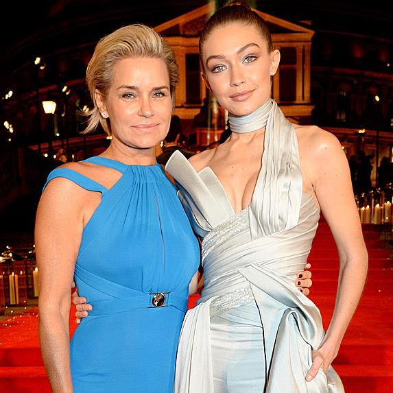 Yolanda Hadid and Gigi Hadid