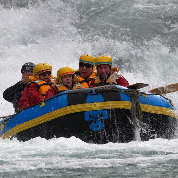 Rafting on Nova Scotia's Shubenacadie River