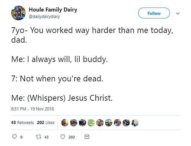 Kids talking about death isn't always cute