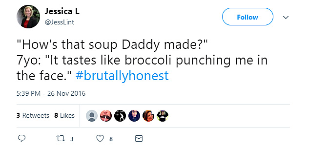 Broccoli is yucky