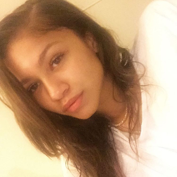 Zendaya without makeup on