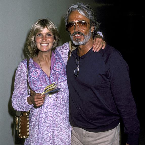 Bo Derek and John Derek married young