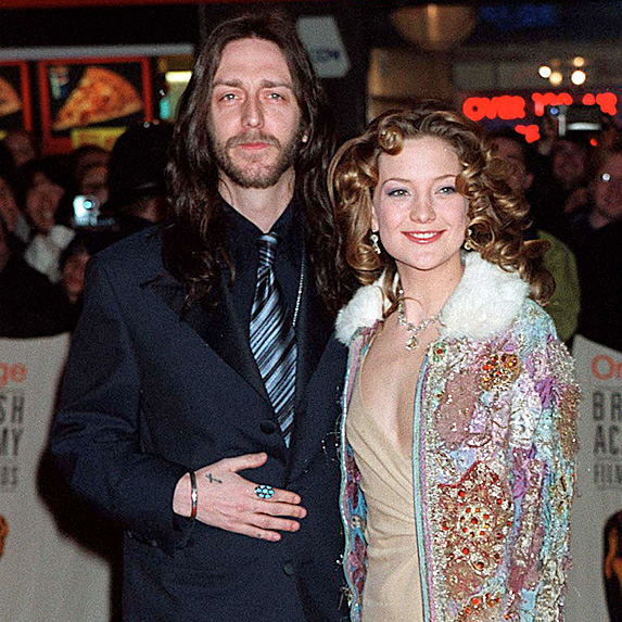 Kate Hudson and Chris Robinson married young