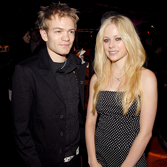 Avril Lavigne and Deryck Whibley married young