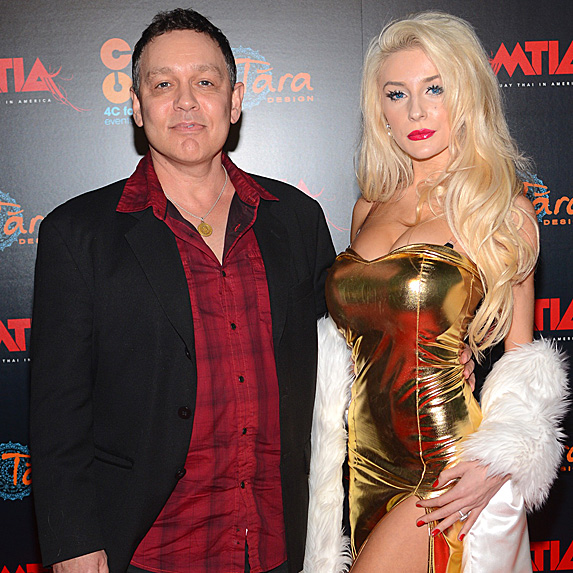Doug Hutchison and Courtney Stodden married young