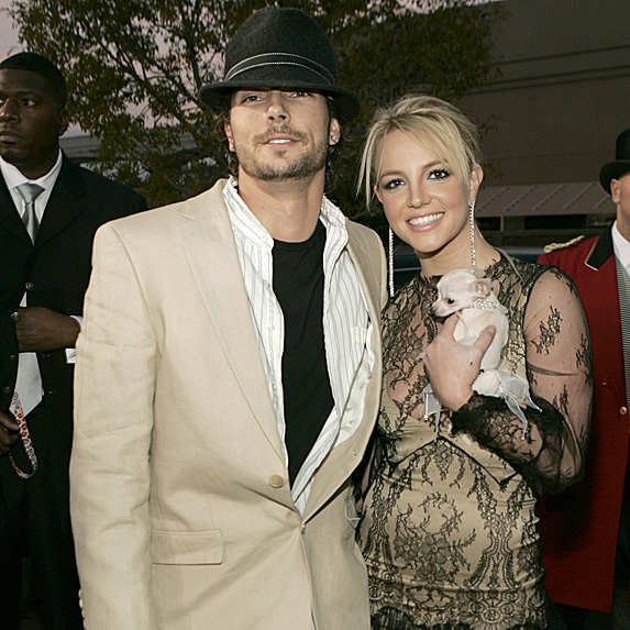 Kevin Federline and Britney Spears married young