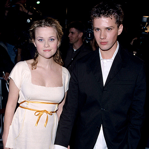 Reese Witherspoon and Ryan Phillippe married young