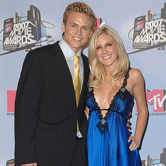 Spencer Pratt and Heidi Montag married young