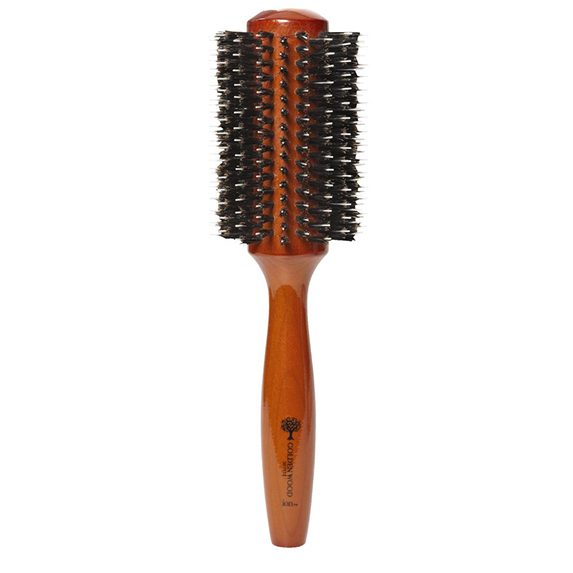 best-drugstore-hairbrush-ion-golden-wood-brush