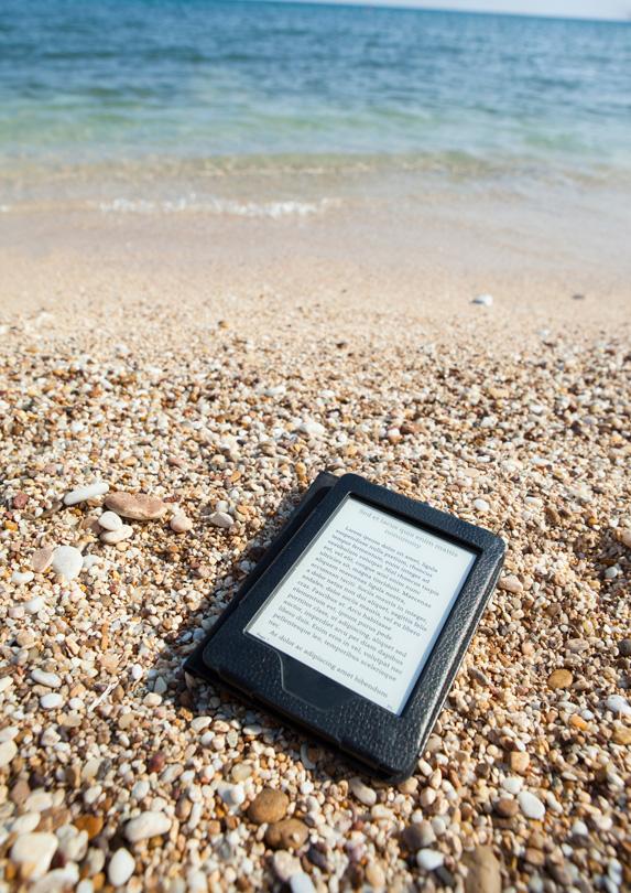 Pack E-reader for beach trip