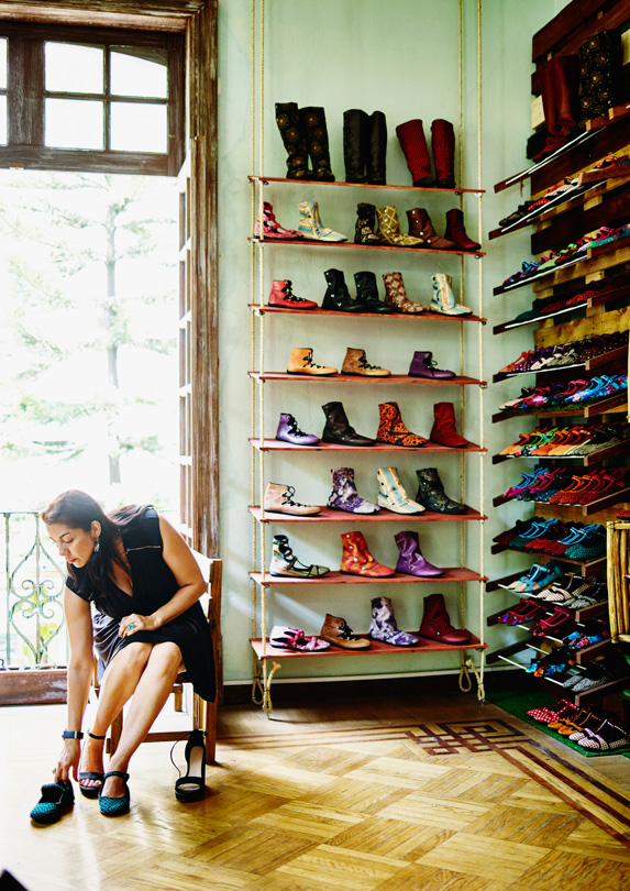 The right shoes are on your packing list